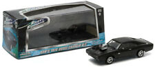 1/43 Diecast Greenlight Fast and Furious Model MITSUBISHI EVO Eclipse Dom's 1970 Dodge Charger