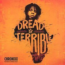 CHRONIXX - DREAD & TERRIBLE VINYL LP  BRAND NEW  EXCELLENT REGGAE NEW SKOOL