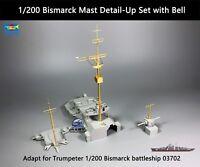 1/200 Bismarck Mast Detail-Up Set