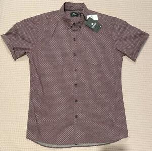 St Goliath Mens Short Sleeve Shirt size L