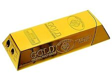 Gold Ingot Cigar Cigarette Lighter Electronic Gas Refillable Brand New