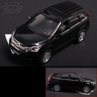 Black 1:32 Dongfeng Honda CRV Diecast Model Car with Sound & Car Pullback