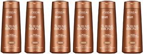 Loreal Sublime Bronze Tinted Self Tanning Bronzer, Medium, 6.7 oz (6 Pack)