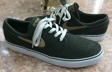cc4d1bd4a73f Nike SB Zoom Stefan Janoski Men s Gold White Olive Shoes Sz 10.5  333824-320