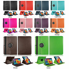 For Samsung Galaxy Tab 4 10.1 Tablet SM-T530NU Leather Rotating Case Cover