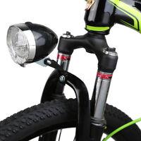 3 LED vélo chromé visière phare avant phare avant lampe universel nouveau PB