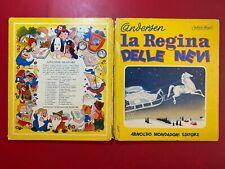 ANDERSEN - LA REGINA DELLE NEVI Mondadori Sinfonie Allegre (1950) Libro BRECCIA