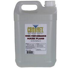Liquide pour machine à brouillard CHAUVET HAZE FLUID HJU5L (2x5 litre)*NEUF*