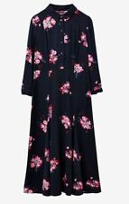New Joules Midi Carla Shirt Dress New Navy Floral Size 6/8
