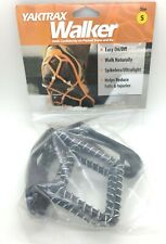 Yaktrax Walker Traction Cleats for Snow and Ice Black Small Mens Size 5 to 8.5