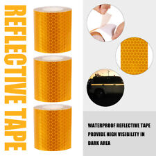 Self Adhesive Roll Tape Sticker Decal 3m Orange Color Reflective Safety Warning