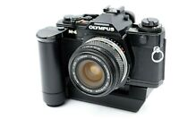 Olympus OM-4 SLR Film Camera w/28mm F3.5 Lens +Winder 2 from JApan