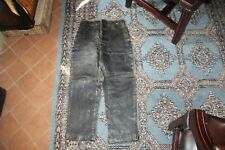 original WW2 BLACK LEATHER NAZI SUBMARINE PANTS