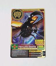 Animal Kaiser Gold Rare Hercules Beetle EVO 7 (A-126E) -- US Seller
