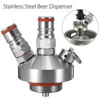Stainless Steel Beer Tap Dispenser Faucet For Mini Keg Homebrew Spear Craft Beer