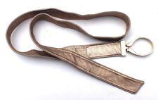 Vintage Retro Disco Metallic Gold Loop Women's Belt