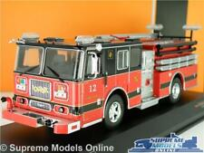 SEAGRAVE MARAUDER FIRE ENGINE MODEL TRUCK 1:43 SCALE IXO SEATTLE USA AMERICAN K8