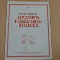 SECOND SERIES GRADED PIANOFORTE STUDIES grade 4  abrsm piano music