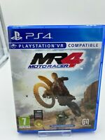 Moto Racer MR4 Sony PlayStation 4 PS4 VGC