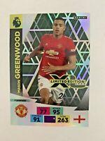 MASON GREENWOOD MAN UTD EPL FOOTBALL ADRENALYN XL LIMITED EDITION CARD 2020-21