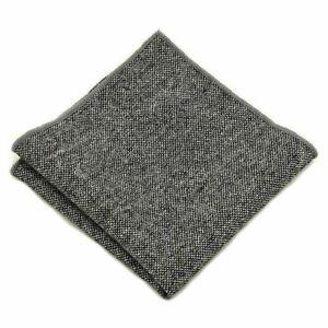Men High Quality Wool Cotton Pocket Square Wedding Party Handkerchief Hanky