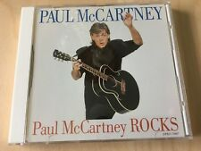 PAUL McCARTNEY Rocks UNPLAYED PROMO ONLY 10 SONG CD DPRO 79987 BEATLES