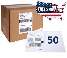 Half Sheet Self Adhesive Shipping Printing 50 Labels Paper Laser Inkjet Printer