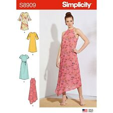 SIMPLICITY SEWING PATTERN S8909 MISSES' DRESSES