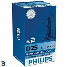 Philips D2S White Vision gen2 85V 35W HID Xenon Ampoule avant 5000K (Single)