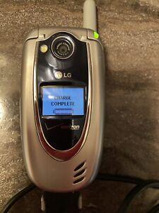 LG Verizon Wireless Flip Open Style Cell Phone