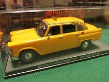 JAMES BOND CARS COLLECTION 077 CHECKER MARATHON TAXI LIVE AND LET DIE
