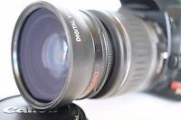Macro Wide Angle Lens for Canon Eos Digital Rebel T6 T6i T5 XT i w/18-55 MARK II