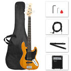 Glarry GJazz  Right Handed Electric Bass Guitar + Plectrum + Tool + AMP for sale