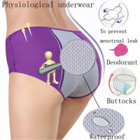 Lady Menstrual Period Leakproof Physiological Pant Briefs Seamless Panties S&K