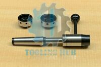 Lathe Tailstock Floating Die Holder Set 2MT Shank Imperial MT2 for MYFORD Lathe