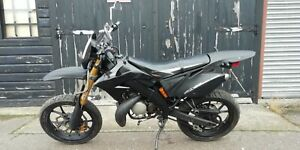 MOTORHISPANIA RYZ 50CC SM SUPERMOTO MOTORCYCLE MOTORBIKE 11 MONTHS MOT