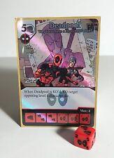 Deadpool #117 Super Rare Isn't There Hero Affilialiation Deadpool Dice Masters