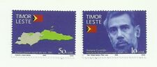 East Timor 2002 - Independence Day - Xanana and Map set MNH