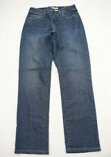 Chicos Womens Jeans Size 6 Short Ultimate Fit Slim Leg Blue Denim  28 Inseam