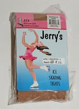 New Jerry's Boot Cover Ice Skating Tights #372 Adult Medium Suntan