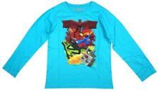 T-shirts, débardeurs et chemises rouge à motif Graphique à manches longues pour garçon de 2 à 16 ans