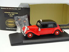 Eligor CEC 1/43 - Citroen Traction 11 BL Taxi  + Figurine