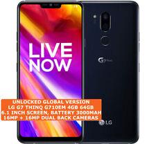 "LG G7 THINQ G710EM 4gb 64gb Octa Core 16mp Fingerprint 6.1"" Android Smartphone"