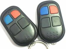 LOT 2: aftermarket keyless remote control 4 button blue LED clicker controller