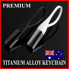 HQ Premium Titanium Alloy Keychain Keyring Excellent Christmas Gift Elegant Cool