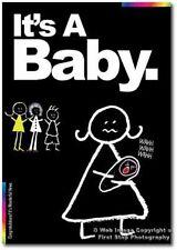 Nouvelle carte de bébé-Craies Designer-c'est un bébé-ck013