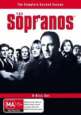 The Sopranos : Season 2 (DVD, 2001, 6-Disc Set) Region 4 Drama Series DVD in VGC