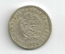 PERU - 1994 - UN NUEVO SOLE COIN -NICE CONDITION