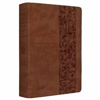 MacArthur Study Bible-ESV-Woodcut Design (Leather / Fine Binding)
