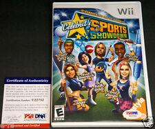 KRISTI YAMAGUCHI Signed Nintendo Wii Celebrity Sports Game PSA/DNA Autograph